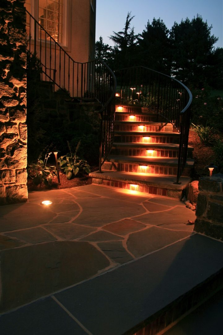 High End Landscape Lighting By Borsello Landscaping