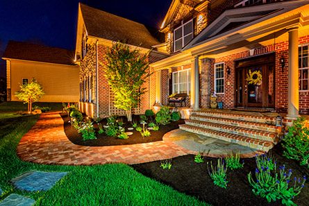 Landscape Lighting Example
